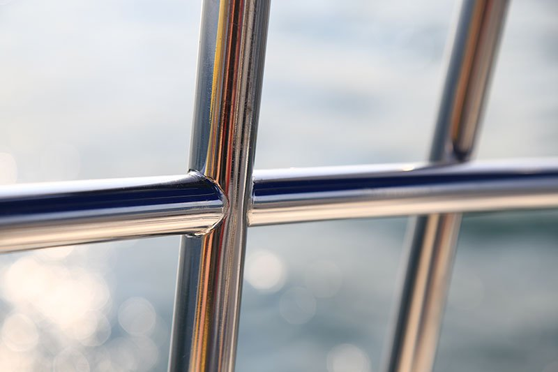 RVS railing